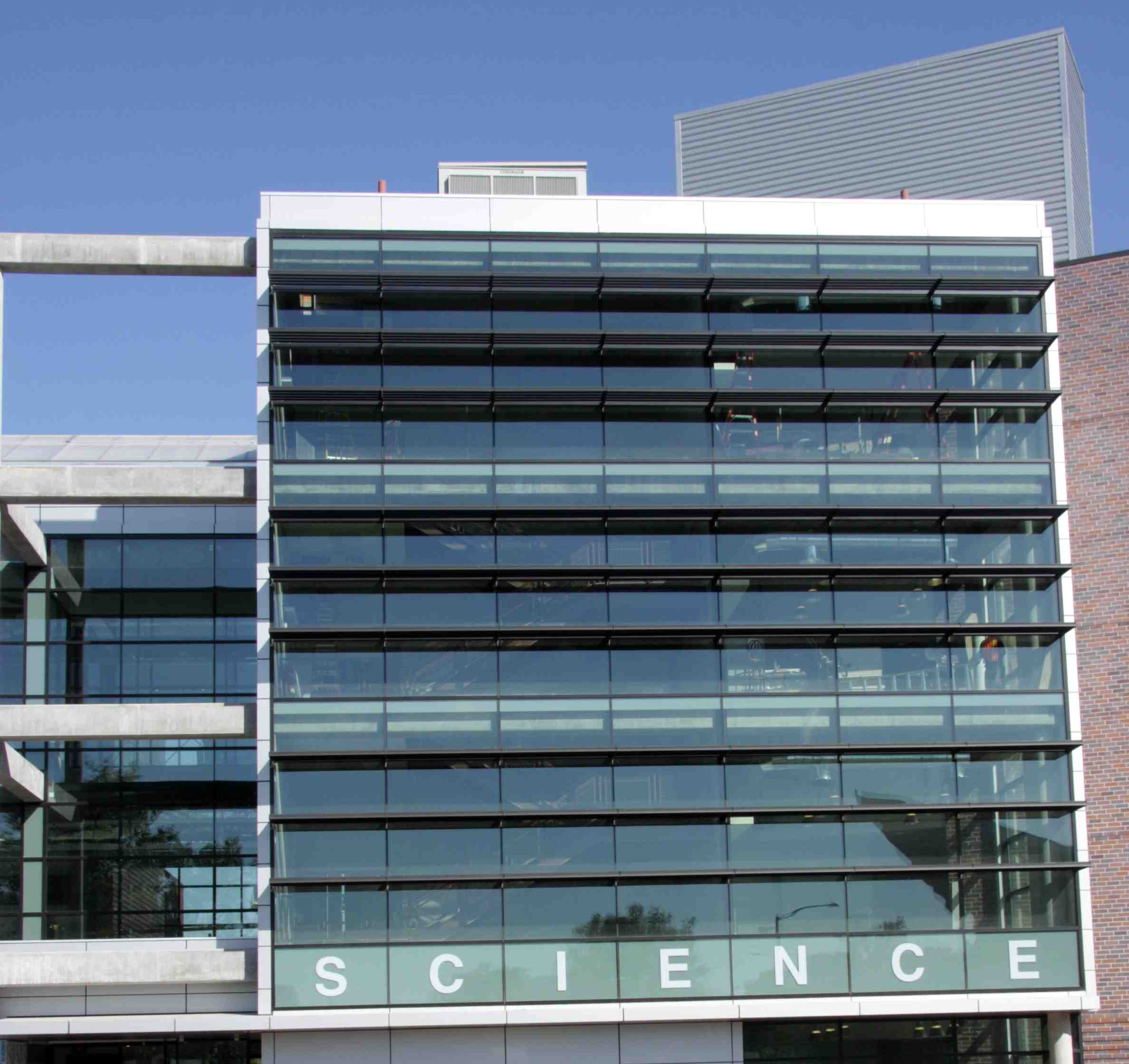 Wall Design Build Inc : Auraria science building blends beauty technology to