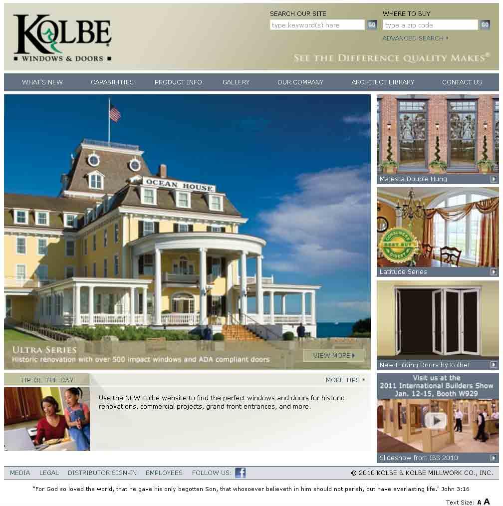 Heather West Pr Client News Kolbe Highlights Both: Heather West PR » 12.27.10 Client News