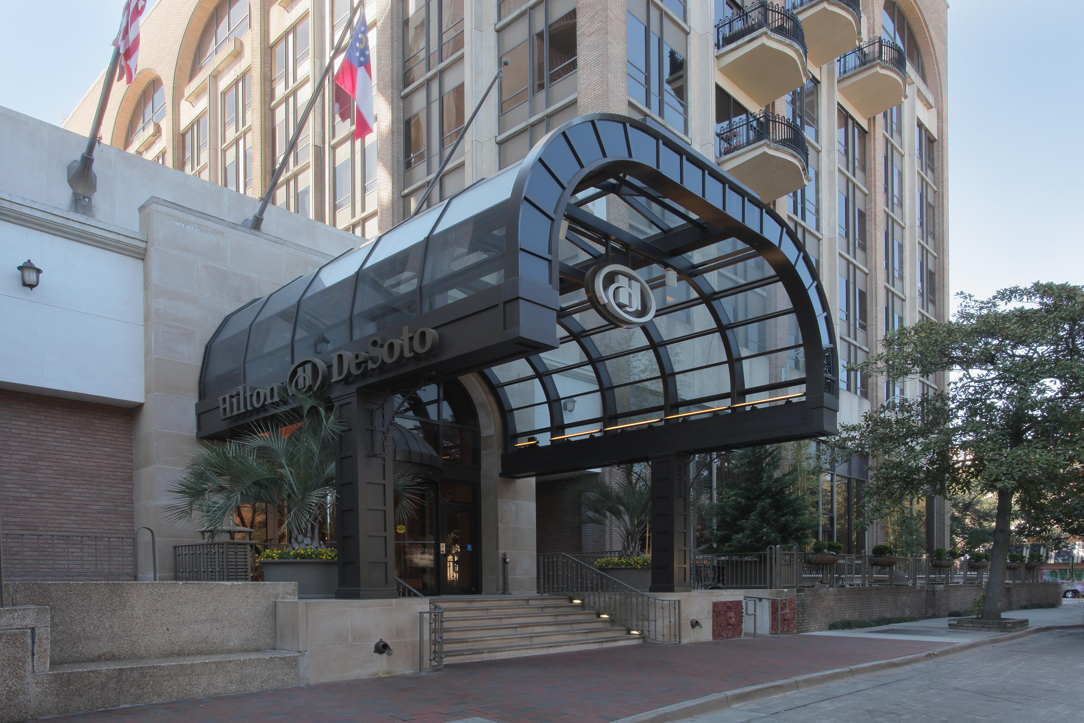 Historic Hilton Desoto Hotel Renovation Features Super Sky