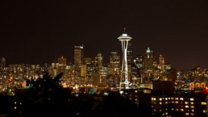 Seattle Skyline by Bryce Edwards