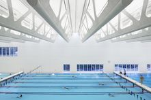 Aquatic center relies on ROCKFON